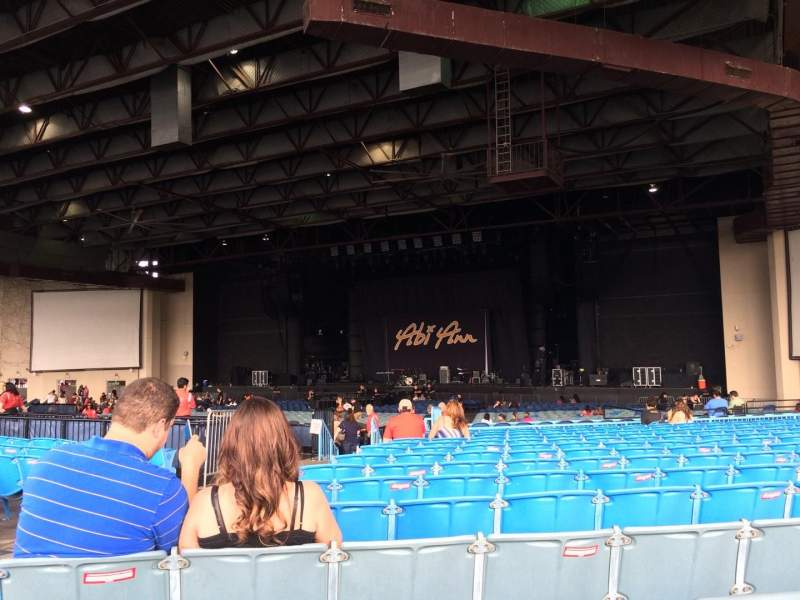 Seating view for Dos Equis Pavilion Section 201 Row TT Seat 33