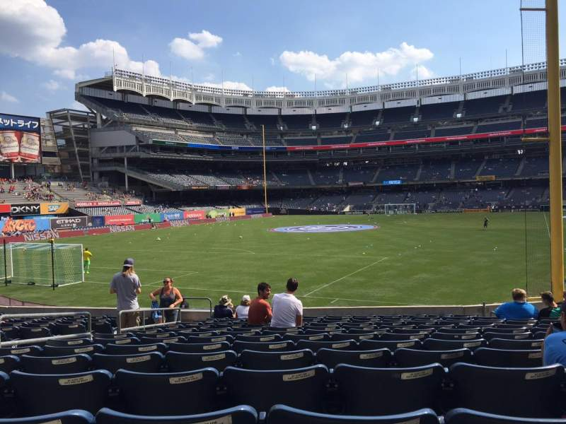 Seating view for Yankee Stadium Section 132 Row 23 Seat 14
