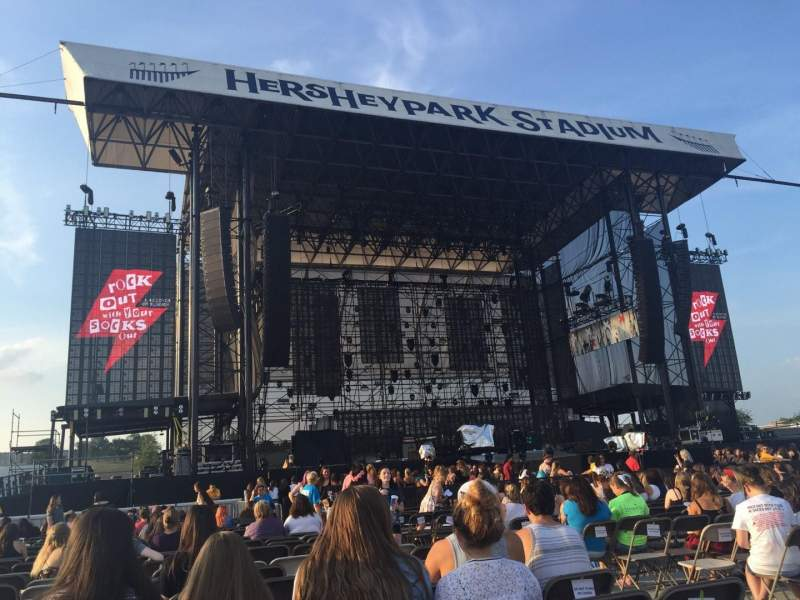 Seating view for Hershey Park Stadium Section C Row 24 Seat 6