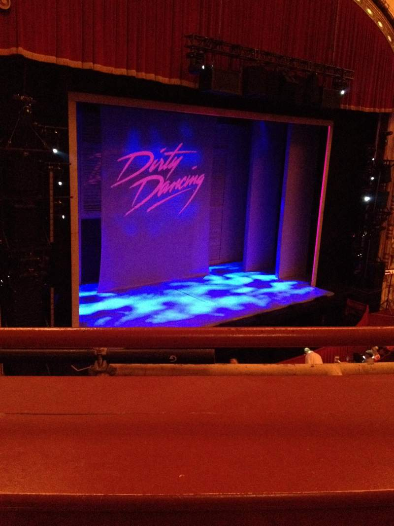 Seating view for Cadillac Palace Theater Section Loge L Row A Seat 13