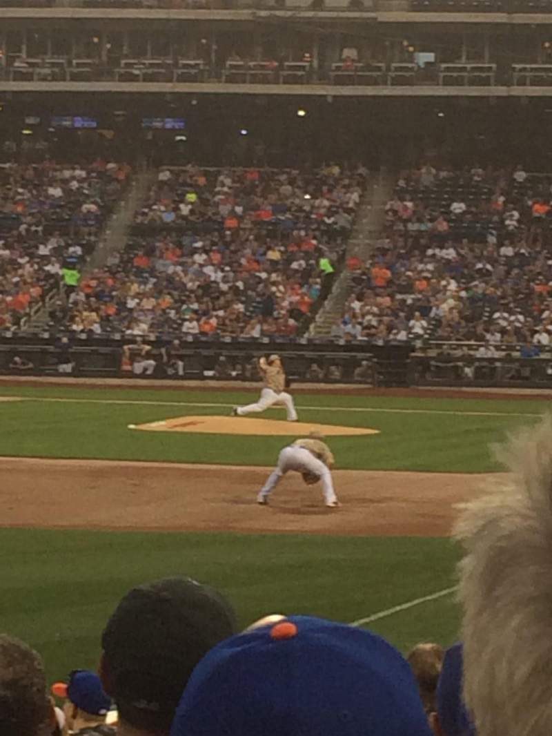 Seating view for Citi Field Section 128 Row 9 Seat 18