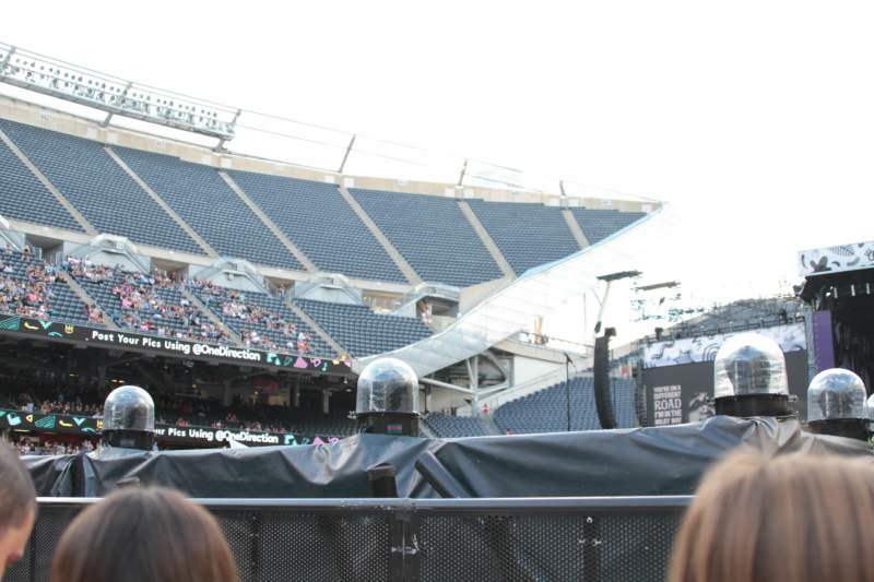 Seating view for Soldier Field Section C3 Row 22 Seat 16