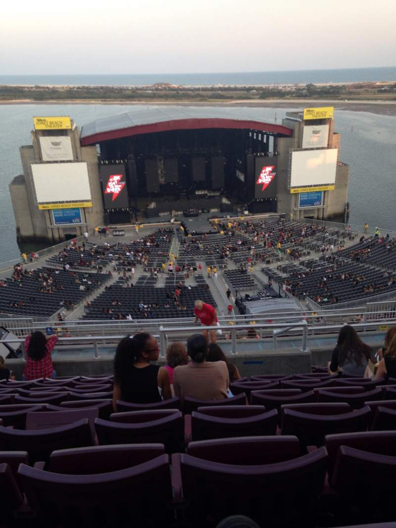 Seating view for Jones Beach Theater Section 23 Row Q Seat 14