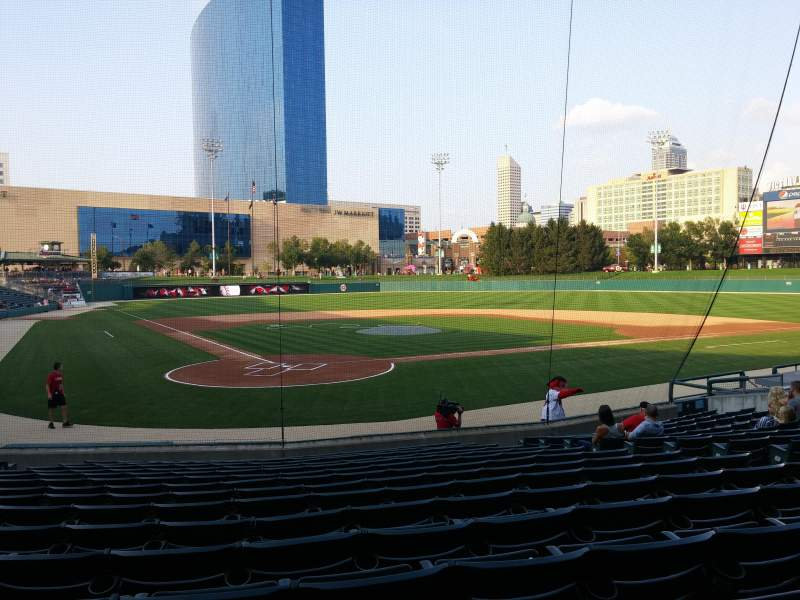 Seating view for Victory Field Section 113 Row S Seat 11