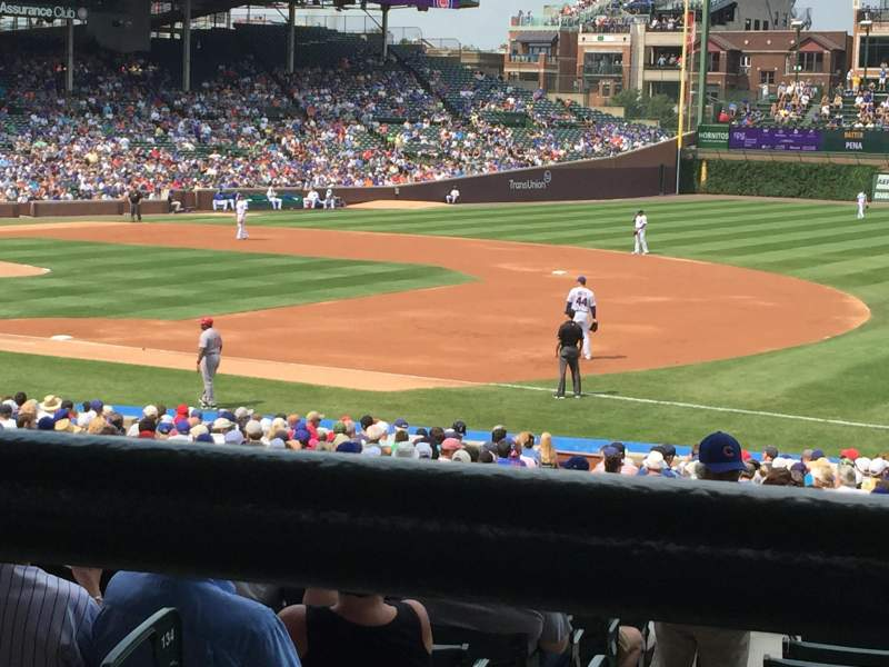 Seating view for WriglEy Field Section 235 Row 1 Seat 102