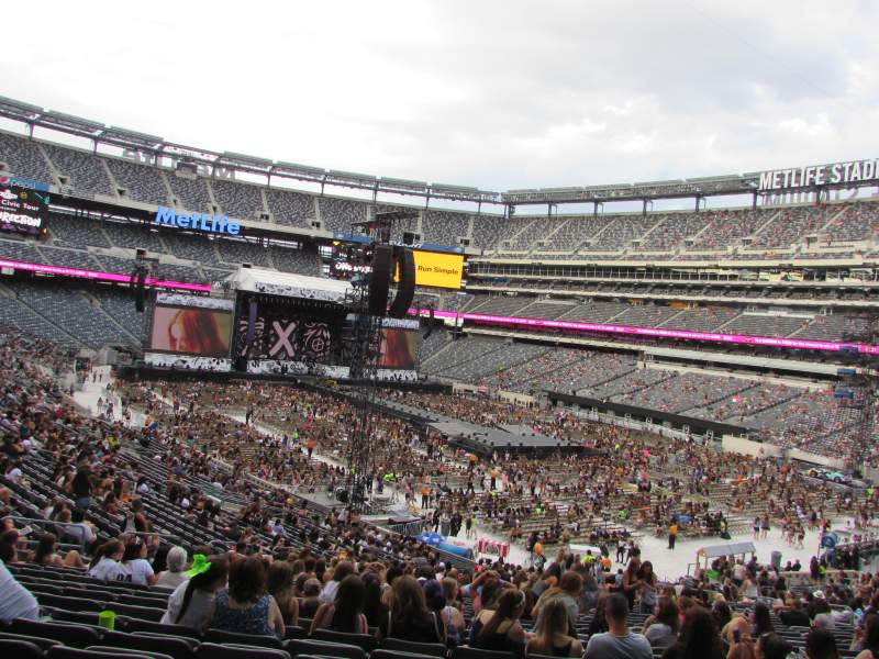 Seating view for MetLife Stadium Section 131 Row 41 Seat 20
