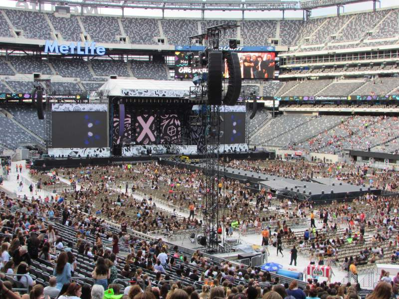 Metlife Stadium Floor Plan: MetLife Stadium Seat View Concerts