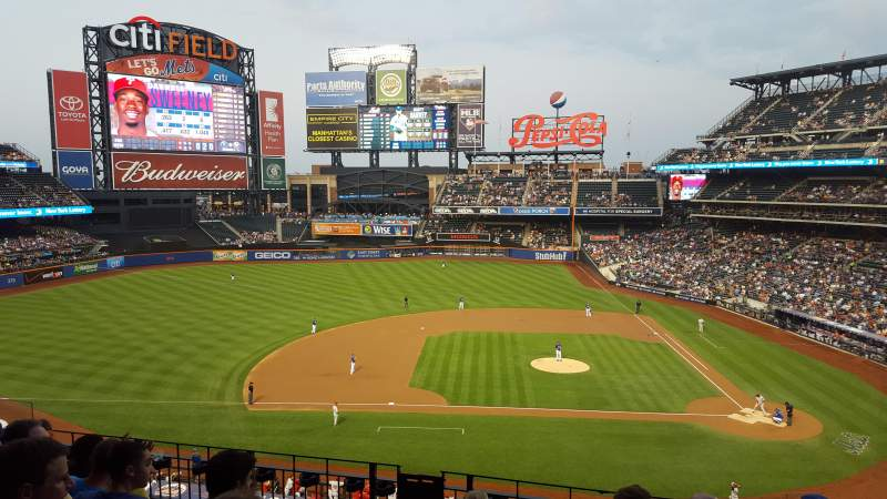 Seating view for Citi Field Section 326 Row 6 Seat 11