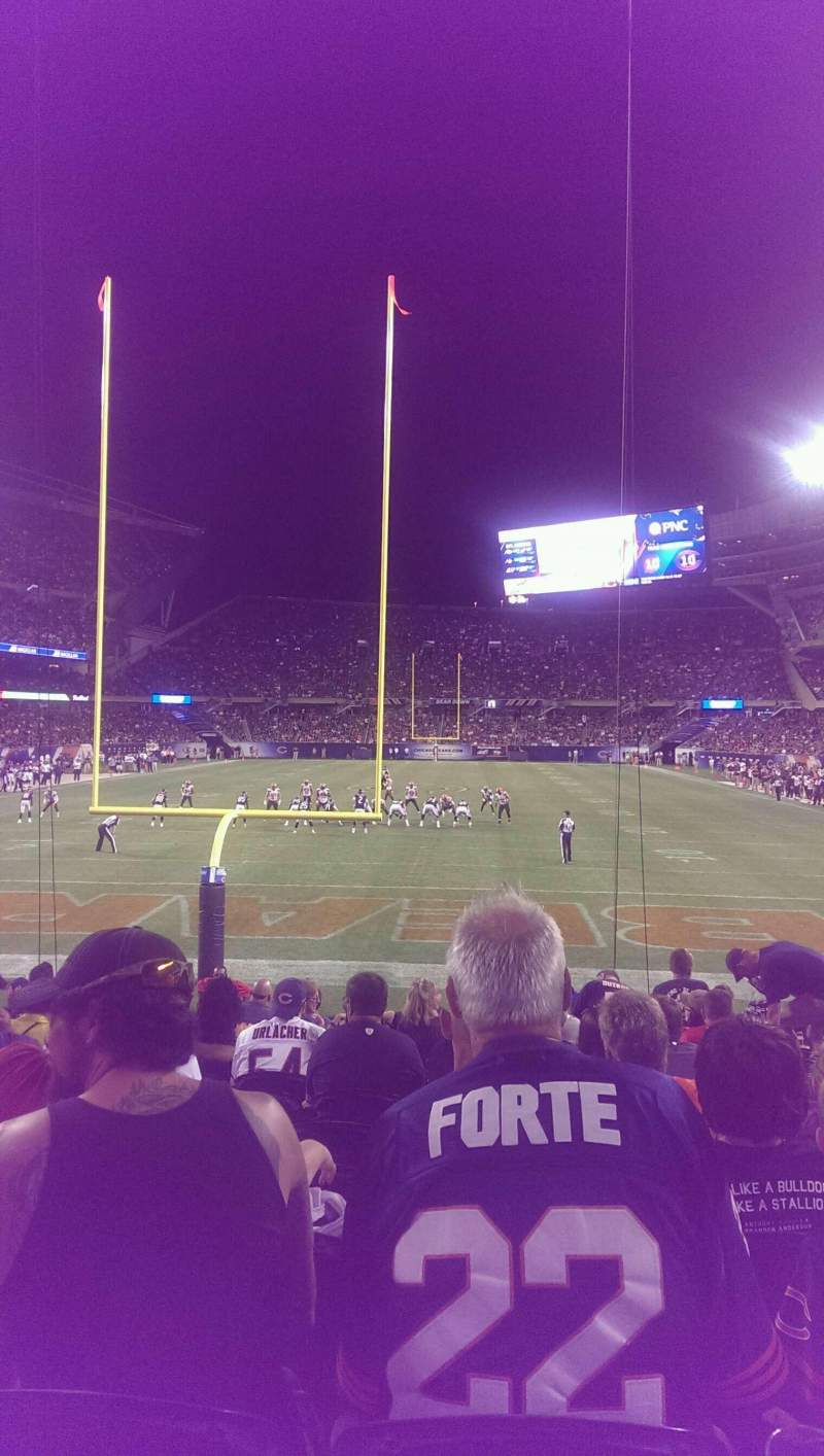 Seating view for Soldier Field Section 122 Row 12 Seat 8