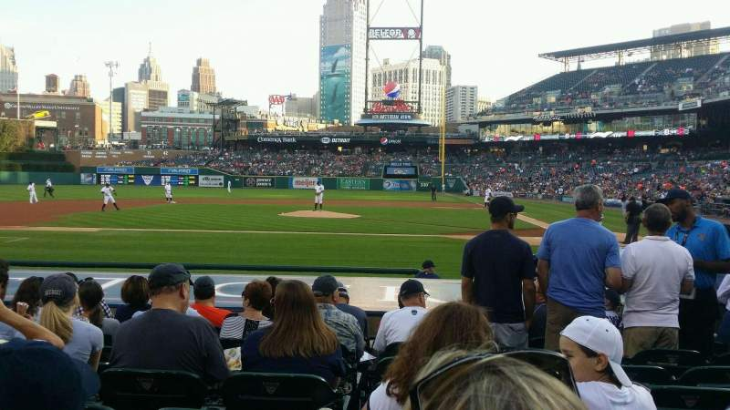 Seating view for Comerica Park Section 132 Row 14 Seat 9