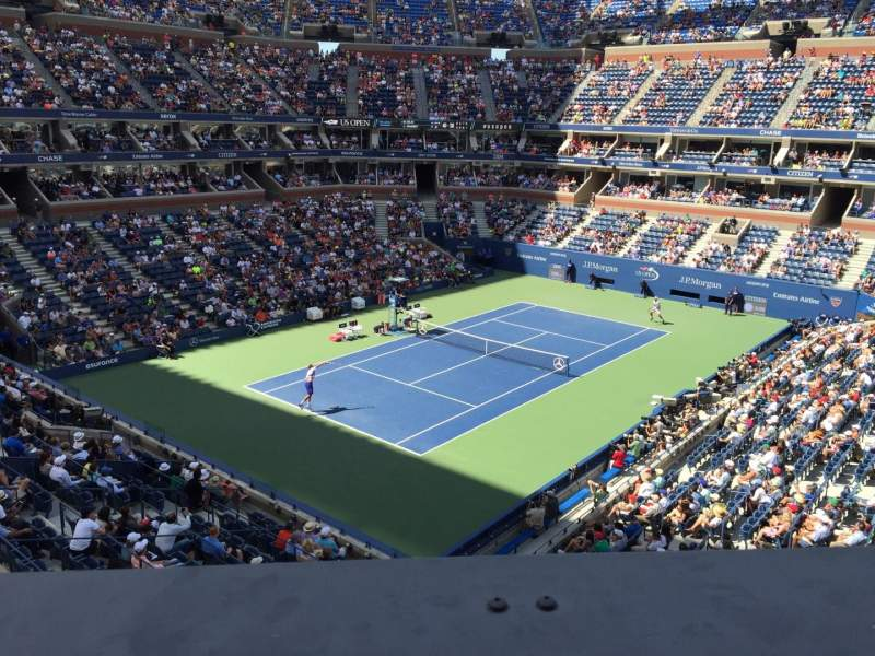 Seating view for Arthur Ashe Stadium Section 105 Row A Seat 1