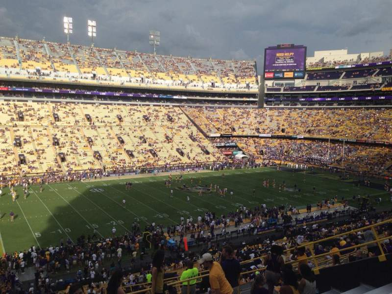 Seating view for Tiger Stadium Section 223 Row 11 Seat 4