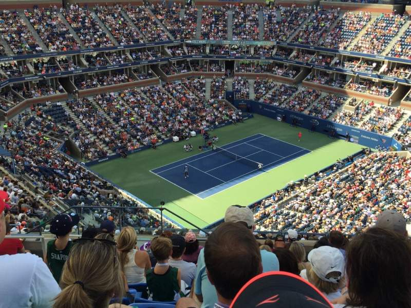 Seating view for Arthur Ashe Stadium Section 306 Row K Seat 15