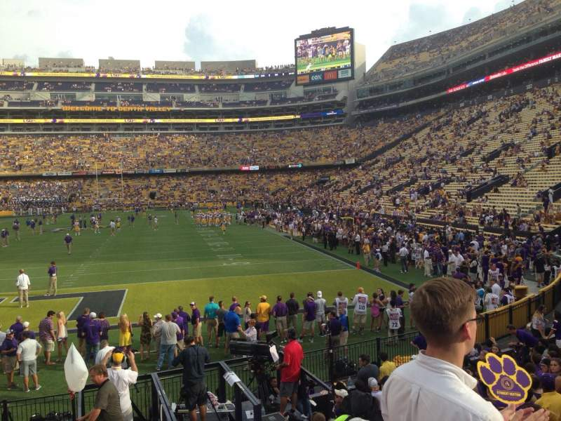 Seating view for Tiger Stadium Section 204 Row 1 Seat 20
