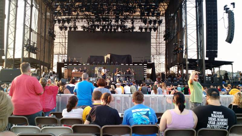 Seating view for Hershey Park Stadium Section B Row 25 Seat 17