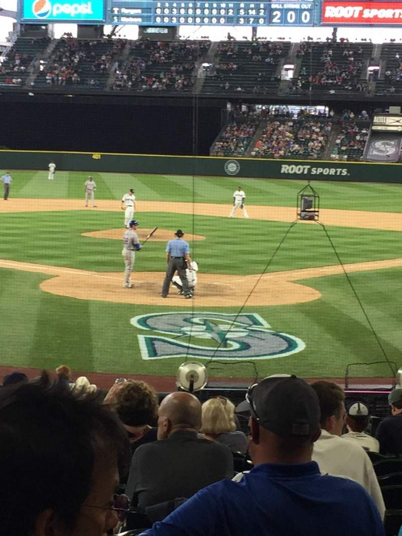 Seating view for Safeco Field Section 131 Row 19 Seat 5