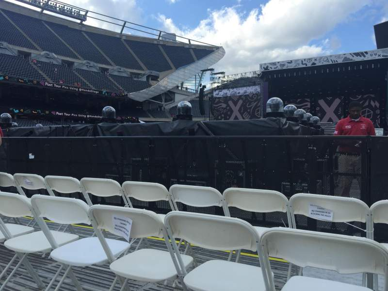 Seating view for Soldier Field Section C3 Row 24 Seat 16