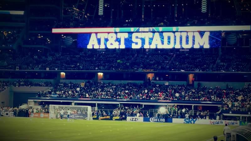 AT&T Stadium, section: c114, row: 1, seat: 16,17