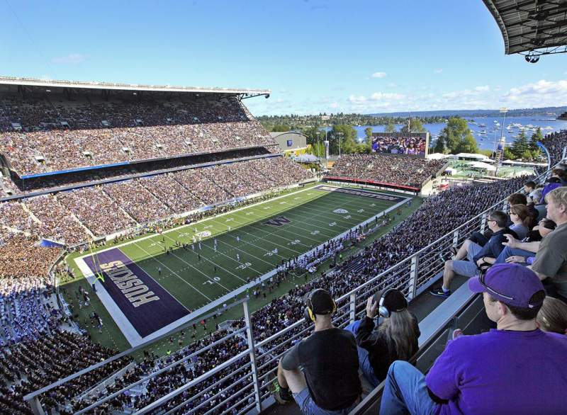 Seating view for Husky Stadium Section 332