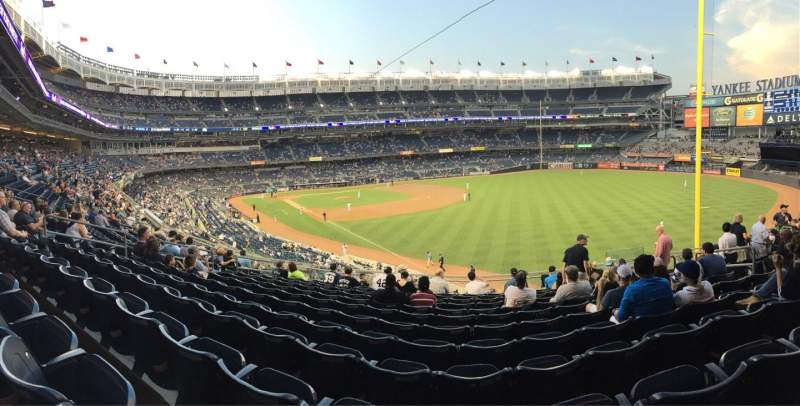 Seating view for Yankee Stadium Section 209 Row 12 Seat 10