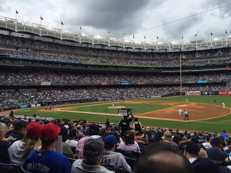 Yankee Stadium, section 114A, home of New York Yankees ...