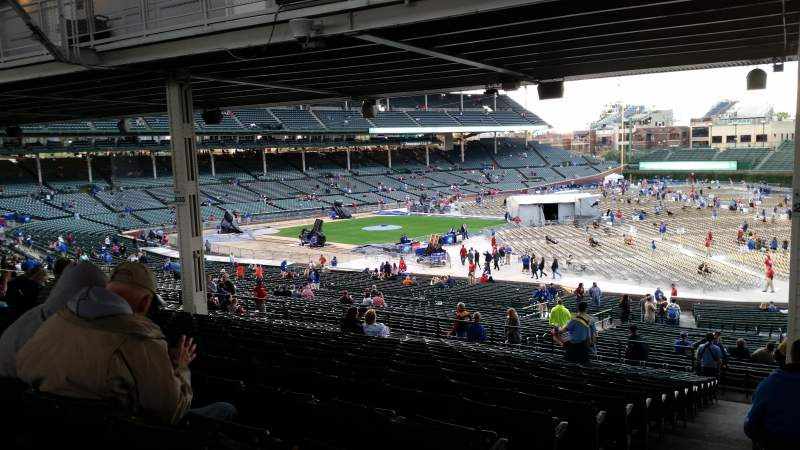 Seating view for Wrigley Field Section 236 Row 18 Seat 1
