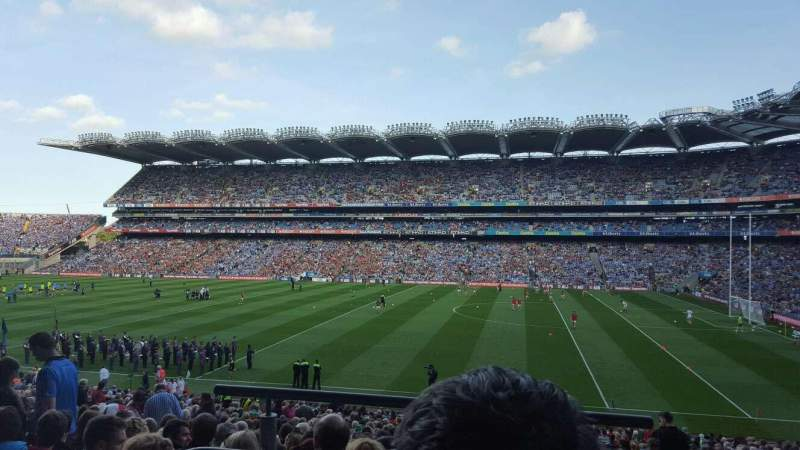 Seating view for Croke Park Section 328 Row NN Seat 17