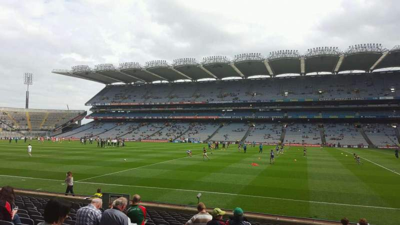 Seating view for Croke Park Section 328 Row Q Seat 16