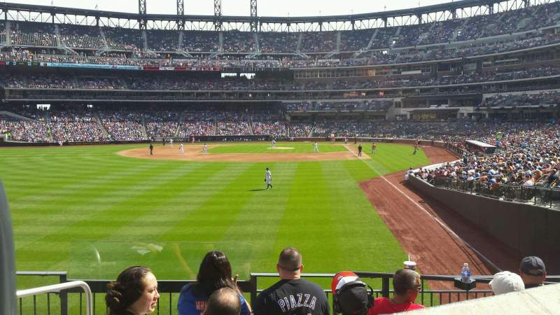 Seating view for Citi Field Section 132 Row 24 Seat 14