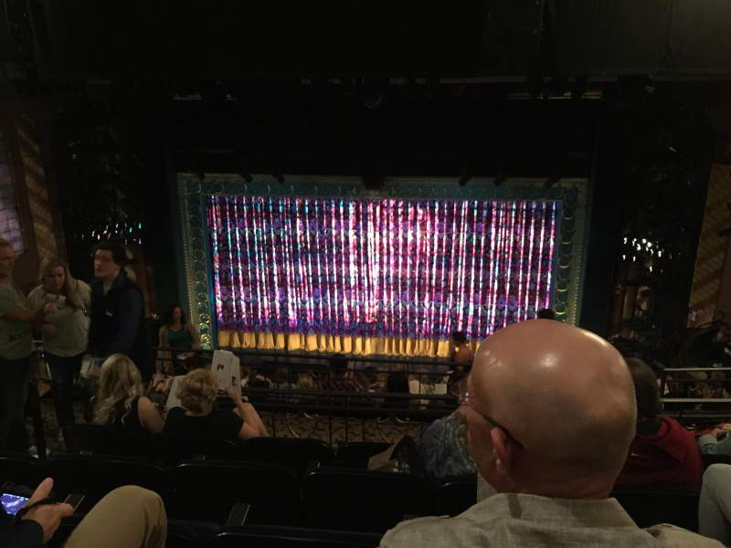 Seating view for Lunt-Fontanne Theatre Section M Mezz Row E Seat 110