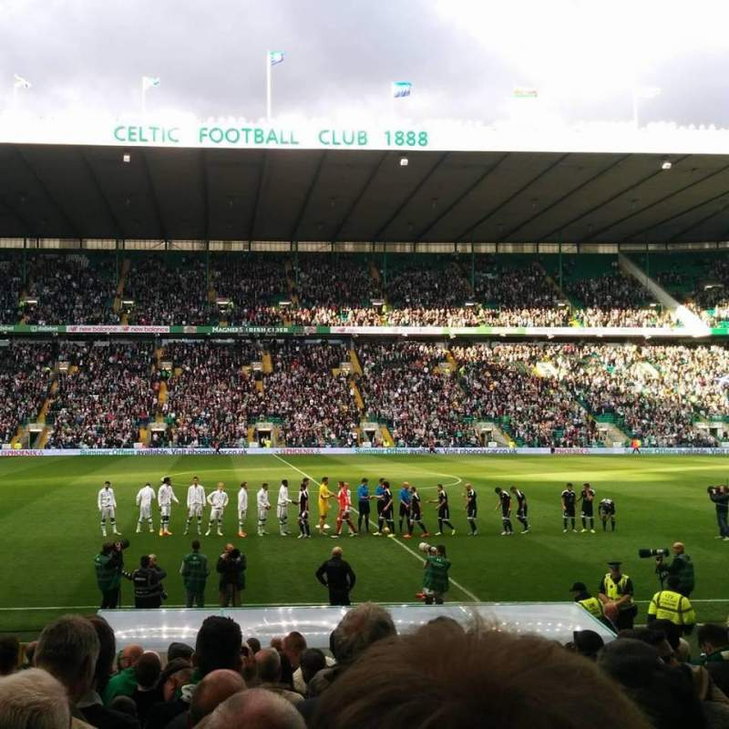Seating view for Celtic Park Section F4W Row 19 Seat 1
