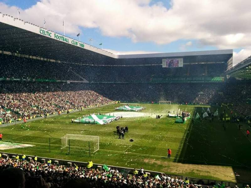 Seating view for Celtic Park Section 139 Row JJ Seat 12