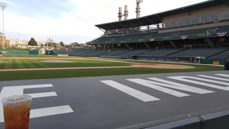 Seating view for Victory Field Section 108 Row E Seat 5