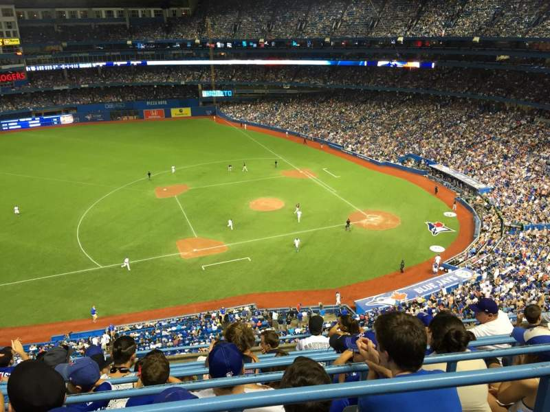 Seating view for Rogers Centre Section 531 Row 7 Seat 7