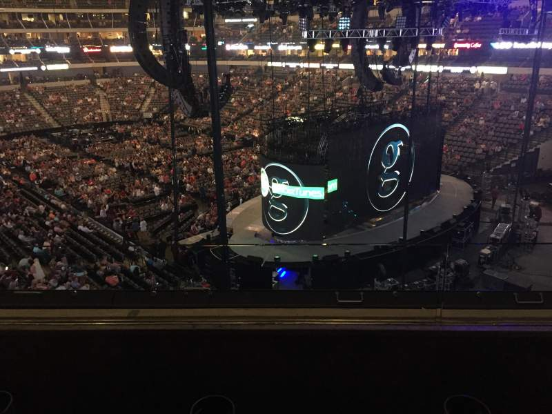 Seating view for American Airlines Center Section 204 Row B Seat 11