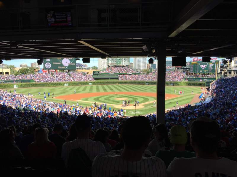 Seating view for Wrigley Field Section 220 Row 19 Seat 102