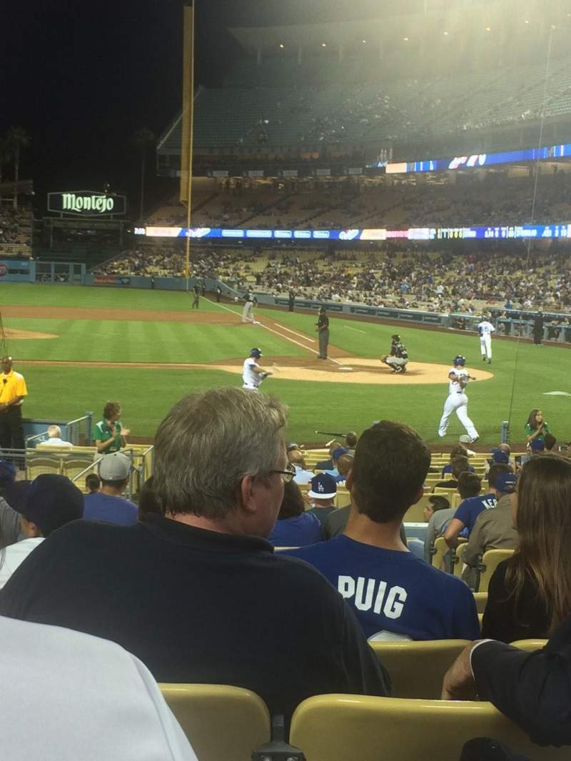 Seating view for Dodger Stadium Section 13FD Row N Seat 3