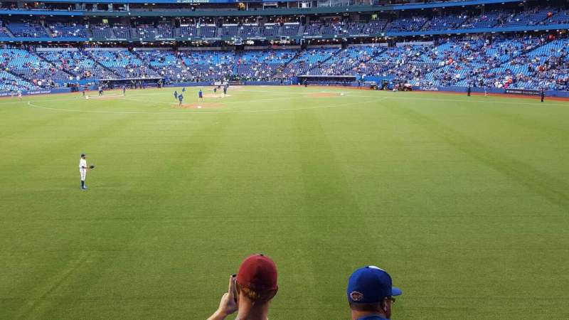 Seating view for Rogers Centre Section 142R Row 4 Seat 2