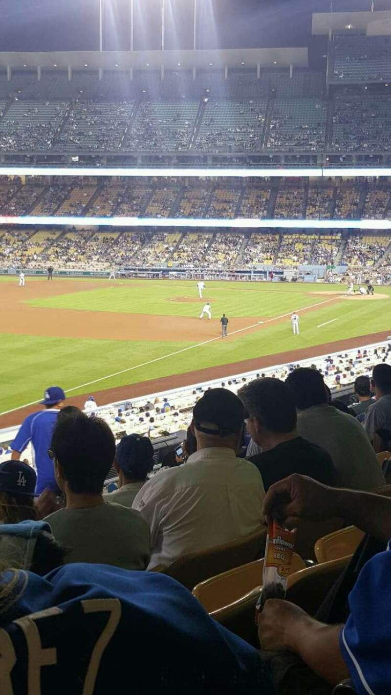 Seating view for Dodger Stadium Section 159LG Row J Seat 8