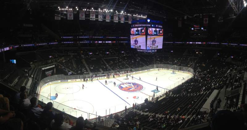 Seating view for Barclays Center Section 228 Row 4 Seat 10