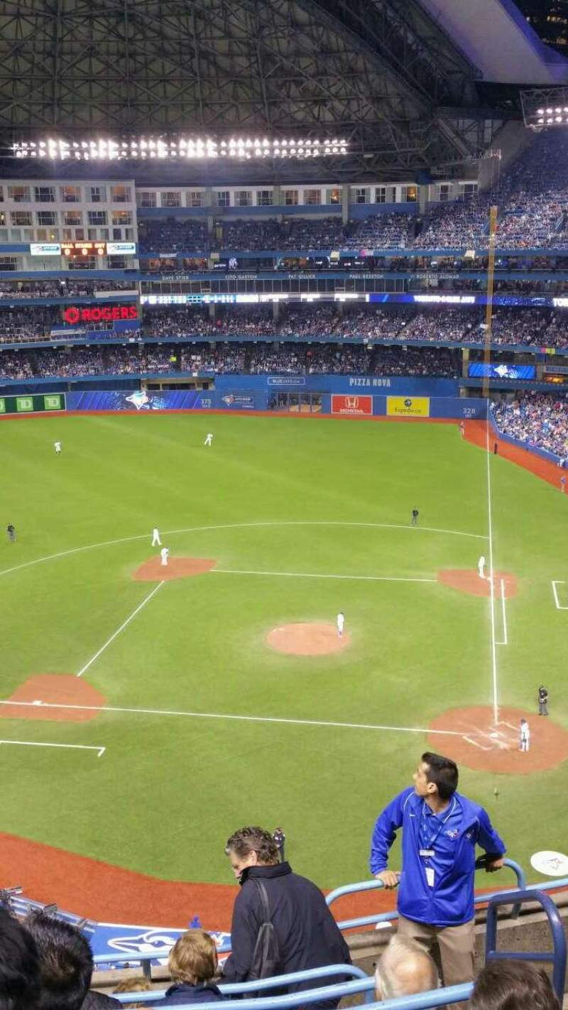 Seating view for Rogers Centre Section 527 Row 7 Seat 101