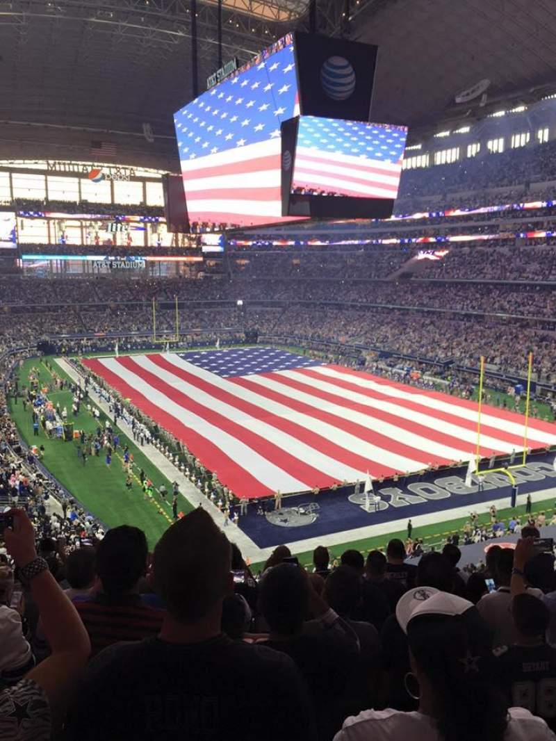 Seating view for AT&T Stadium Section 302 Row 9 Seat 11