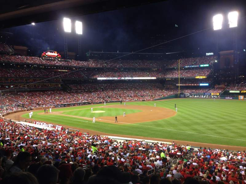 Seating view for Busch Stadium Section 137 Row 28 Seat 16