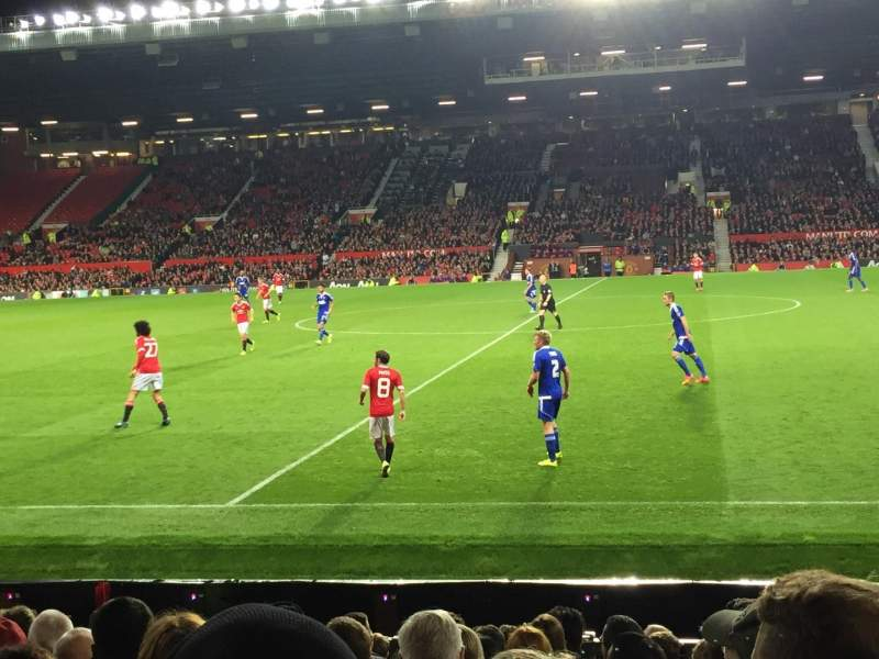 Seating view for Old Trafford Section N1407 Row PP Seat 140