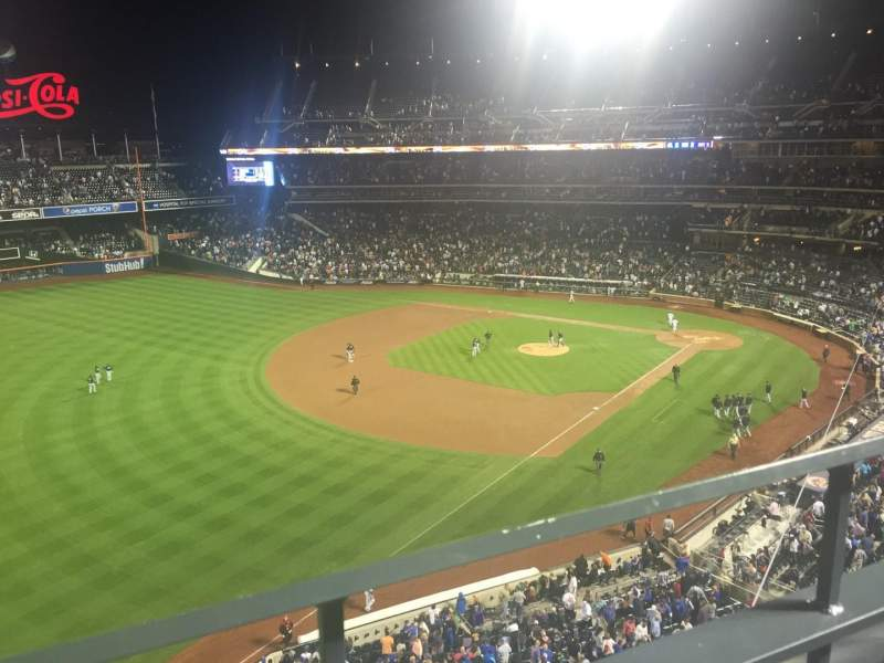 Seating view for Citi Field Section 427 Row 1 Seat 9