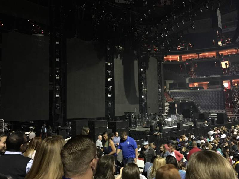 Seating view for Verizon Center Section 121 Row H Seat 10