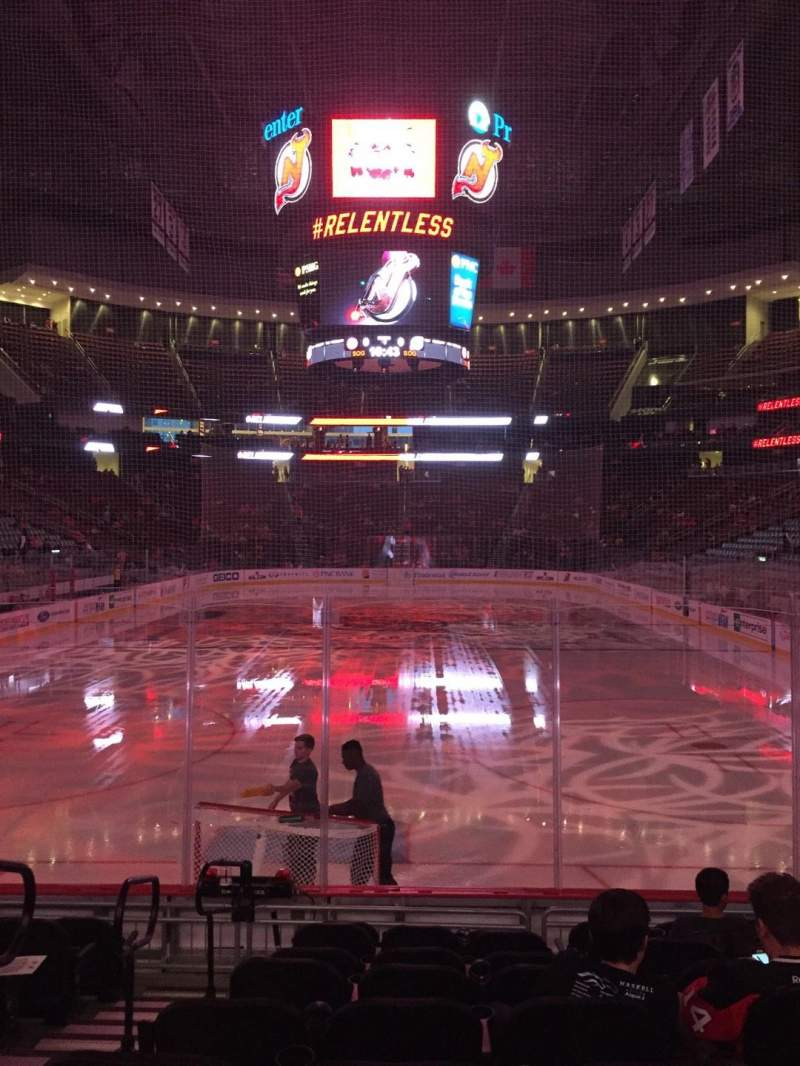 Seating view for Prudential Center Section 14 Row 9 Seat 11