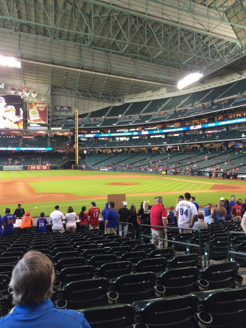 Minute Maid Park, section: 112, row: 19 , seat: 12