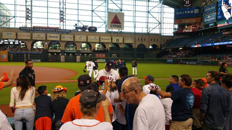 Seating view for Minute Maid Park Section 127 Row 5 Seat 6