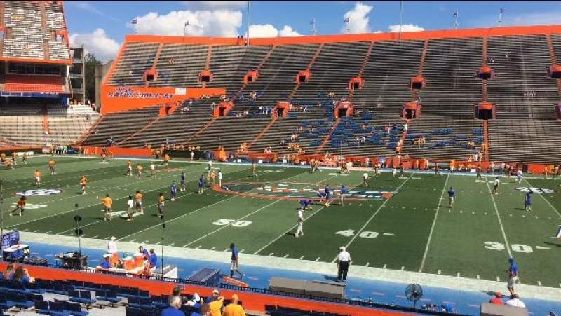 Seating view for Ben Hill Griffin Stadium Section 6 Row 28 Seat 7